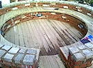 ALMOST COMPLETE - Brick & Decking Meeting Circle - Click image to enlarge it.