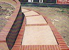 Retaining wall and steps - Click image to enlarge it.