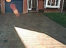 AFTER - New Block Paved Drive - Click image to enlarge it.