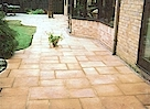 AFTER - New Flag Stone Paving - Click image to enlarge it.
